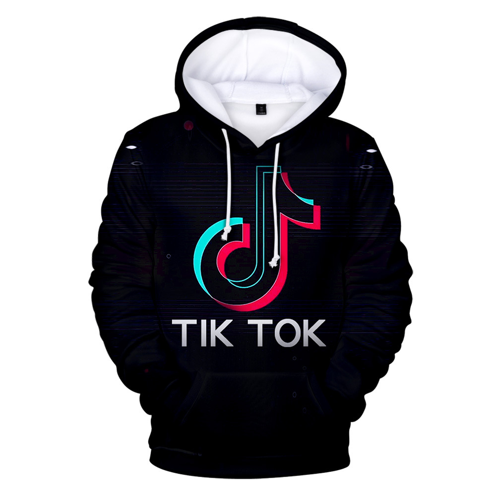 New Style Hot Sales Tik Tok Douyin 3D Printed Hoodie Men And Women CHILDREN'S Sweater
