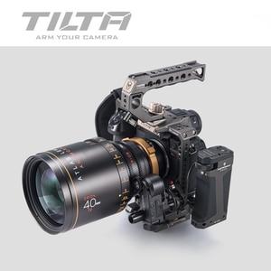 Image 4 - TILTA caméra Cage pour panasonine S1 S1H S1R DSLR caméra avec support de chaussure froide pour Micrphone Flash Light TA T38 FCC G