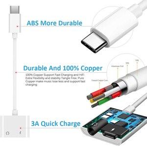 Image 5 - デュアルusbタイプcスプリッタdacで2 1オーディオ高速充電タイプcに3.5ミリメートルヘッドフォンアダプタgoogleピクセルhuawei社xiaomi oneplus