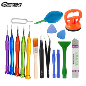 Image 1 - 17 In 1 Universal Mobile LCD Screen Opening Repair Tools Set Screwdriver Repair Tools Suction Cup Pry Bar Dissamebly Tools