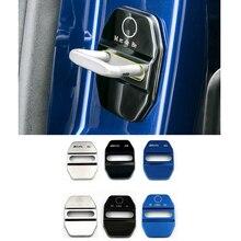 4 шт. крышка дверного замка автомобиля стикер аксессуары для Mercedes AMG W203 W204 W108 W126 W168 W169 W176 W177 W205 W212 W213 W221 W222