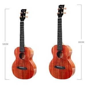 Image 2 - Enya ukulele k1 sólido koa ukelele 23 polegada 26 pequena guitarra concerto tenor com saco 4 cordas guitarra instrumentos musicais