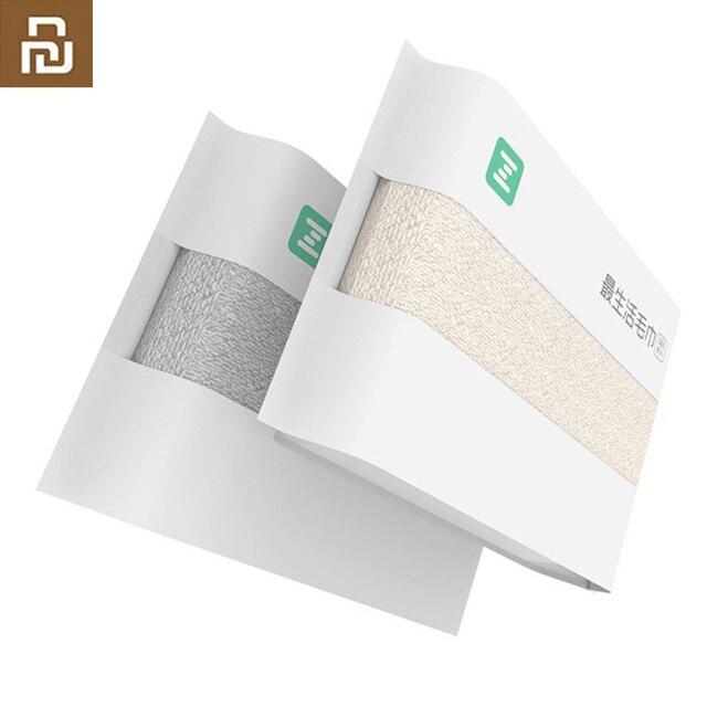 Orijinal youpin ZSH pamuk elyaf Antibacterical havlu emici havlu 2 renk 34*72cm yumuşak banyo yüz el havlusu aile kullanımı