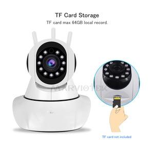 Image 2 - 720P 1080P IP 카메라 와이파이 나이트 비전 비디오 감시 카메라 홈 보안 플러그 앤 플레이 PTZ 자동 추적 IP 카메라 와이파이 IR