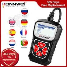 KONNWEI KW310 OBD2 סורק עבור אוטומטי OBD 2 רכב סורק אבחון כלי רכב סורק רכב כלים רוסית שפה PK Elm327