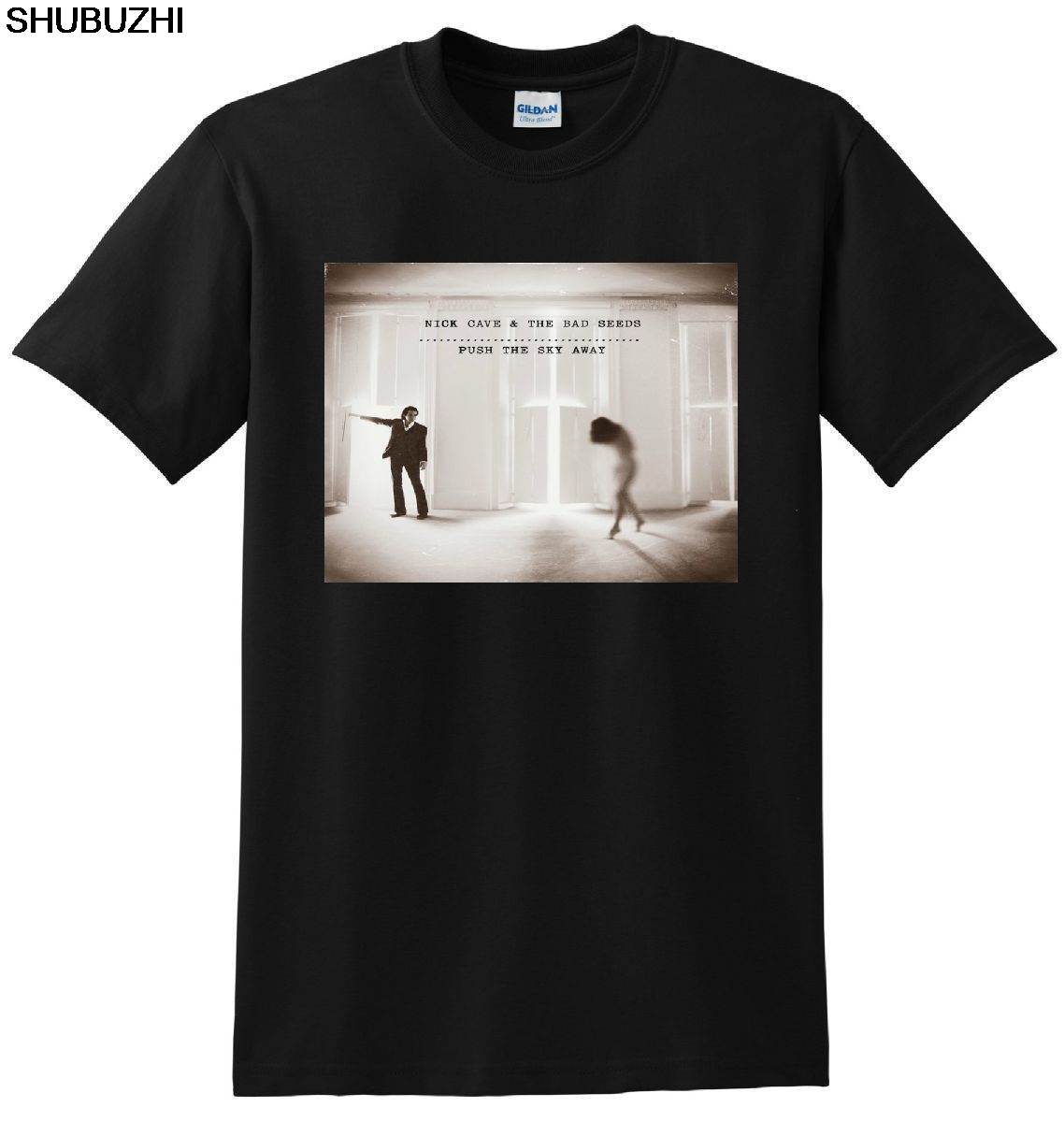 NICK CAVE AND THE BAD SEEDS T SHIRT Push The Sky Away  Short Sleeves Cotton T-Shirt Fashion Design Free Shipping