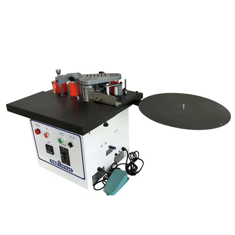 Woodworking Edge Banding Machine Professional Automatic Speed Adjustable Wood Cutting Curved Straight Edge Bander Machine