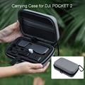 Портативный переносной чехол для DJI Pocket 2 Mini Creator, комбинированная сумка для хранения, водонепроницаемый жесткий карманный карданный чехол, ...
