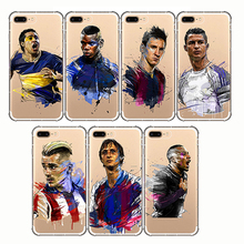 Soft Silicon Phone Cases Neymar Messi Football Soccer Cover For Apple iphone 6S 7 6 8plus X 5 5S SE 11 pro XS MAX