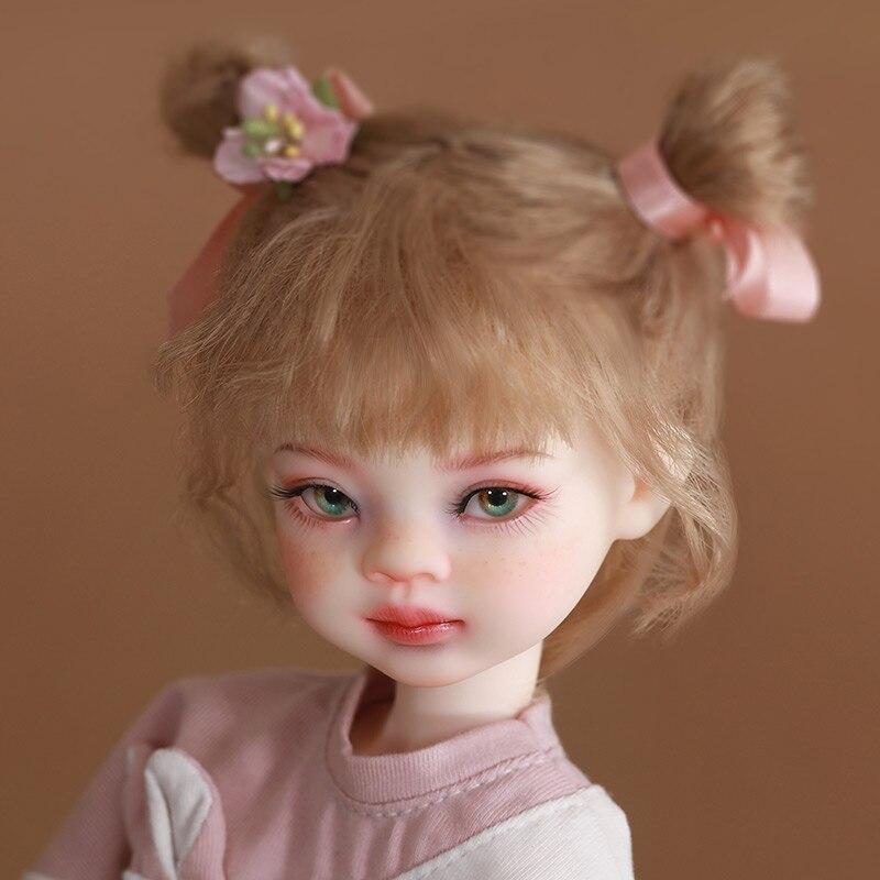 Fantasie Engel 1/6 BJD Puppe Viki fullset 27cm Reine handcraf ob11 anime figur YOSD Harz Anime Spielzeug DIY Geschenk tiny Baby Nette