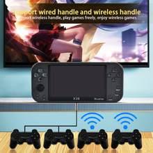 Console de jeu Portable X20, avec écran de 5.1 pouces, double Joystick, 8 go, prise en charge de jeux vidéo HD 720P, sortie TV, nouveauté