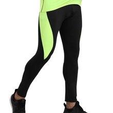 Мужские компрессионные обтягивающие леггинсы для бега, быстросохнущие штаны, спортивные мужские штаны для тренировок, фитнеса
