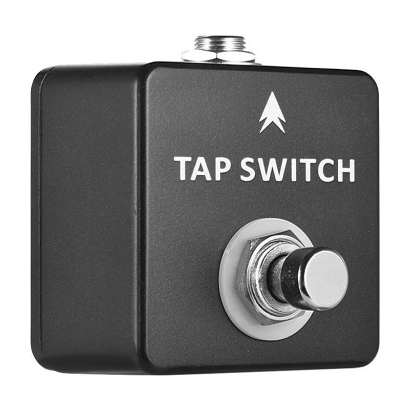 Mosky toque interruptor de efeito guitarra pedal toque interruptor de tempo pedal de guitarra completa concha metal peças & acessórios