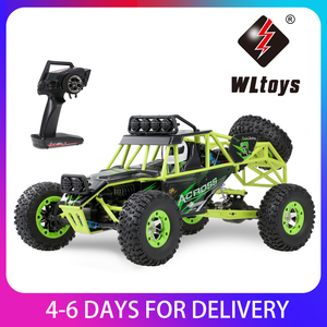WLtoys 12428 1/12 RC Car 2.4G 4WD 50km/h High Speed Car Monst-er Truck Radio Control RC Buggy Off-Road RC Car Electric Toys(China)