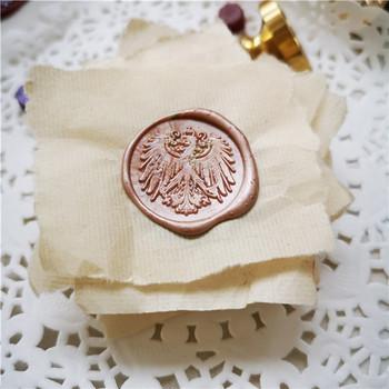 Orzeł Totem pieczęć woskowa pieczęć woskowa pieczęć woskowa pieczęć Vintage pieczęć pieczęć woskowa tanie i dobre opinie XunMade seal stamp Pieczątka standardowa Spersonalizowane godło Metal