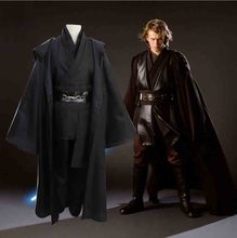 Star Wars Cosplay Kostuum Anakin Skywalker Replica Jedi Robe Fantasia Mannelijke Halloween Cosplay Jedi Kostuum Voor Mannen Plus Size 3XL