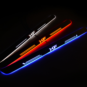 Image 1 - LED Door Sill For Jaguar XF 2015 2016 2017 2018 Door Scuff Plate Pathway Welcome Light Car Accessories