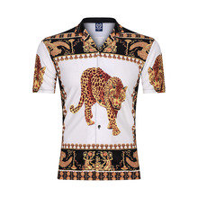 Новый 3D мужчин свободного покроя рубашки летом с коротким рукавом Уличная мода тренажерный зал спортивная одежда хип-хоп свободного покроя мужчины блузка 2020