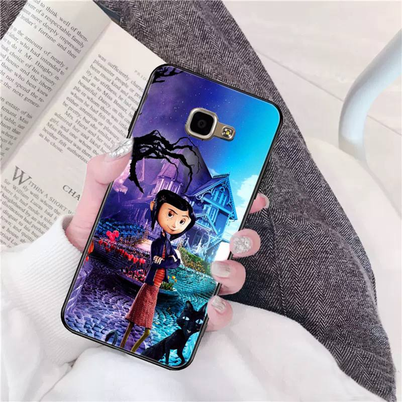 Super Promo D32d Yndfcnb Coraline And The Magic Door Painted Phone Case For Samsung A50 A70 A40 A6 A8 Plus A7 A20 A30 S7 S8 S9 S10 S20 Plus Cicig Co