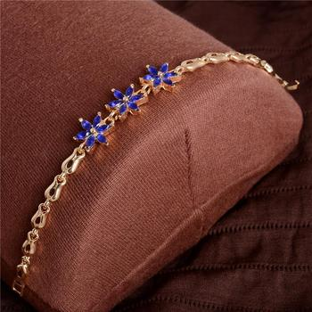 Women's Fashion Colorful Bracelets Bracelets Jewelry New Arrivals Women Jewelry Metal Color: H256
