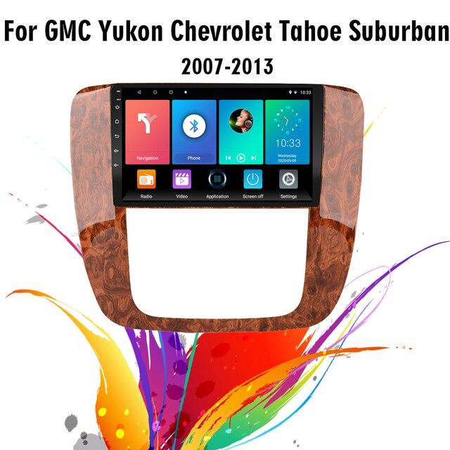 2.5D 9 Inch Android 8.1 Car Multimedia Video Audio FM BT GPS Navigation Player For GMC Yukon Chevrolet Tahoe Suburban 2007 2012