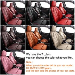 Image 5 - Kokololee Customหนังรถยนต์สำหรับAUDI A4 A3 A6 Q3 Q5 Q7 A1 A5 A7 A8 TT R8รถยนต์ที่นั่งครอบคลุมรถที่นั่ง