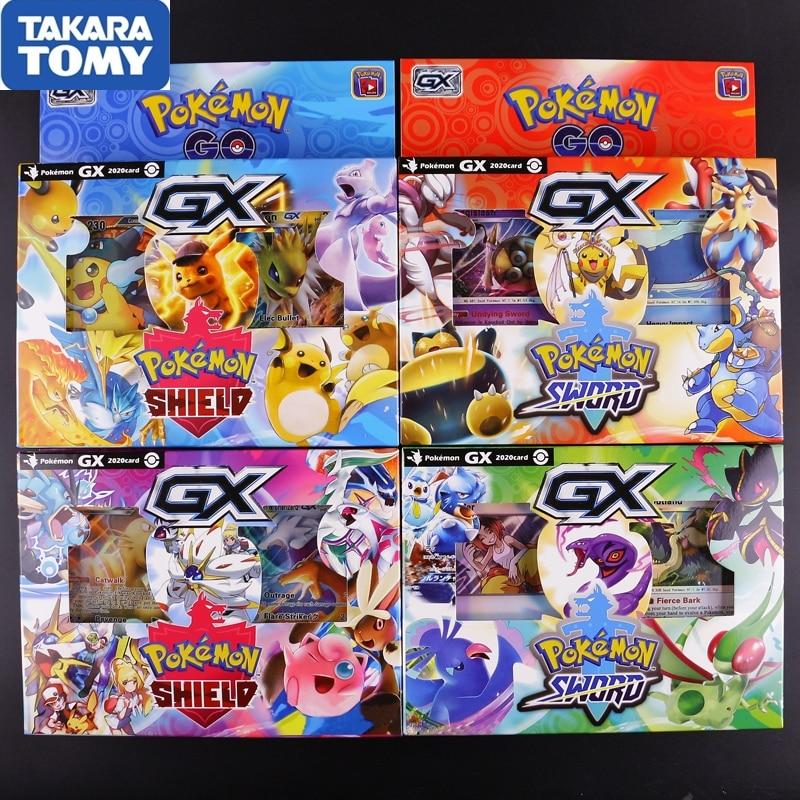 56pcs/box Pokemon Cards 2020 New Version Sm11 Ptcg Battle Trading Card Game Box Kids Toys