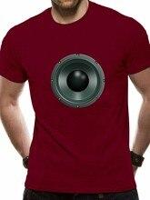 Ver 2018 marca famosa alto-falante camisa alto-falante alto-falante música gráfica
