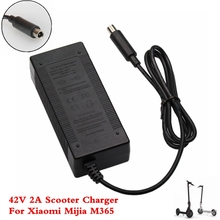 Electric Scooter Charger 42V 2A Adapter for Xiaomi Mijia M365 Ninebot Es1 Es2 Electric Scooter Accessories Battery Charger ninebot electric scooter charger 9