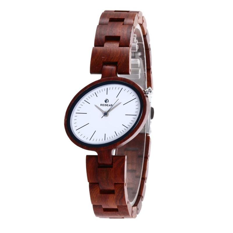 2019 Real The New Fashion Female Woodiness Watches Hot Style Wooden Cross-border Electricity Products