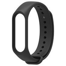 Mais novo m4 pulseira para mi banda 4 pulseira de silicone preto pulseira de pulso para mi banda 4 pulseiras de pulso pedômetros 2021