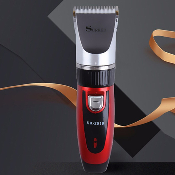Surker Sk-2019 Electric Hair Clipper Hair Clipper Low Noise For Children Hair Clipper With Spare Battery Lasting Hair Trimmer Eu