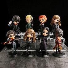 10 tipos q posket bonito olhos grandes pvc anime bonecas collectible figura de ação q versão modelo brinquedo para crianças presente