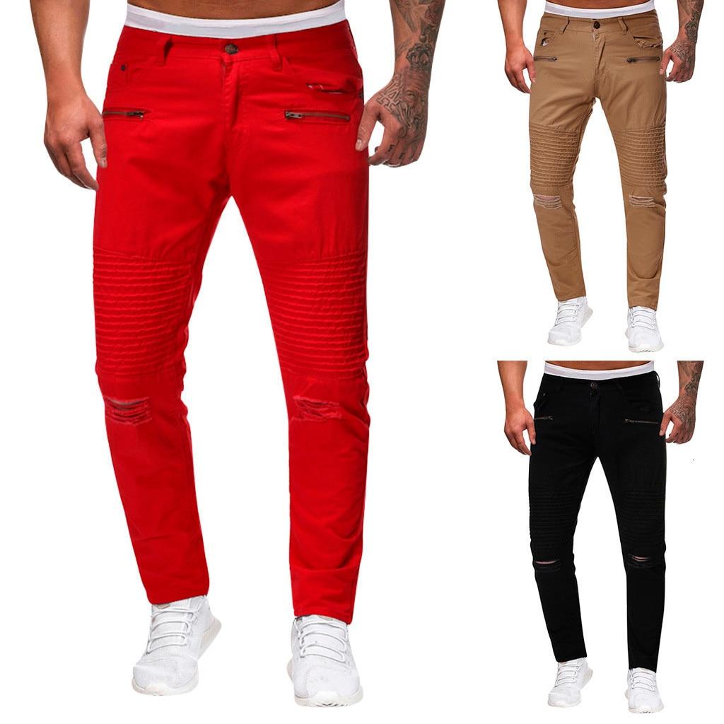 2019 Male Trousers Mens Joggers Solid Pants Men Casual Jogger Dance Sportwear Baggy Slim Designed Pants Slacks Sweatpant M-2XL