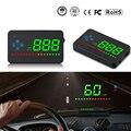 XYCING A2 HUD 3 5 zoll GPS Auto Head Up Display Geschwindigkeit Alarm Kompass Windschutzscheibe Projektor Tacho HUD über GPS Satelliten-in Head-Up-Display aus Kraftfahrzeuge und Motorräder bei