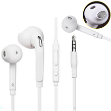Earphone Wired Headset Universal Cancelling Portable with Mic for S6/s7-Edge Stereo Music-In-Ear