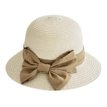 New Sun Hat For Women Floppy Wide Brim Hats Beach Cap Ladies Women Casual Wide Brimmed Floppy Foldable Straw Beach Caps YL5(China)