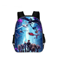 16 Inch Dragon 3 Children School Bags Orthopedic Backpack Kids Boys Girls Mochila Infantil Catoon