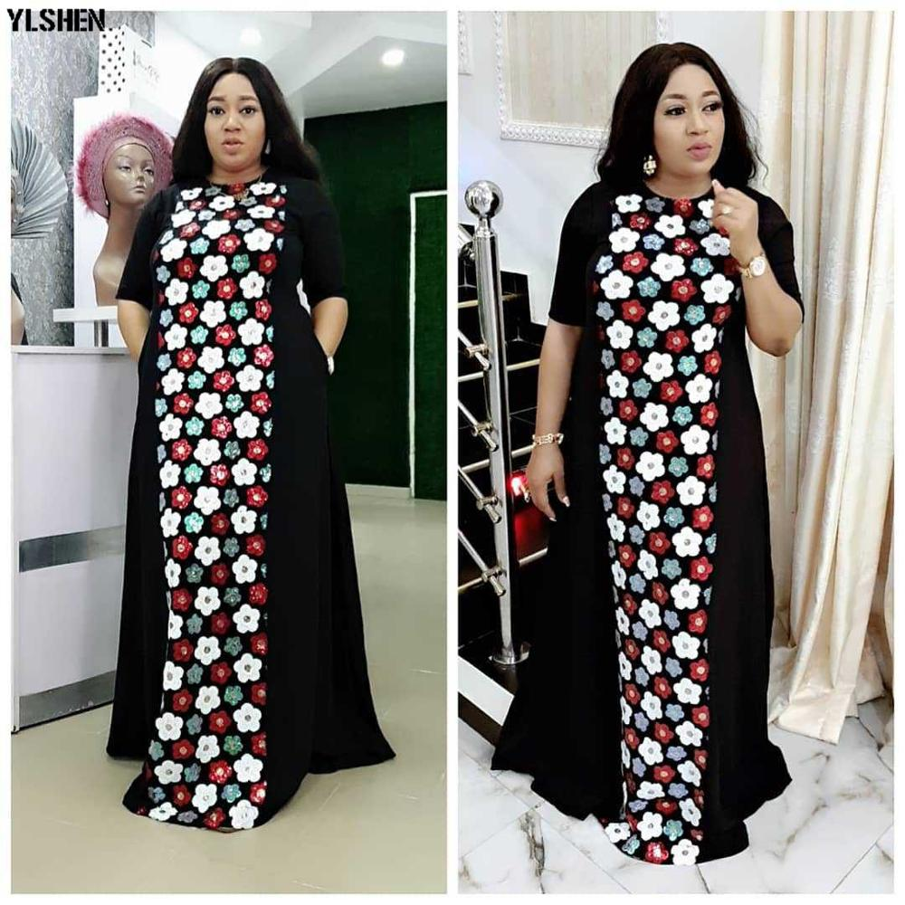 African Dresses For Women Dashiki Summer African Dress Ladies Traditional Africa Clothing Plus Size Robe Africain Ankara Dresses