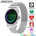 Смарт-часы R20 Android IOS Bluetooth Вызов SIRI браслет пульсометр кровяное давление фитнес-трекер цветной спортивный браслет