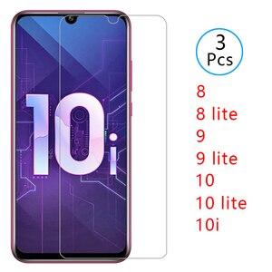 Чехол для honor 10i 8 9 10 lite light i, защита экрана из закаленного стекла для huawei 10 lite 9lite 8lite, защитный чехол для телефона