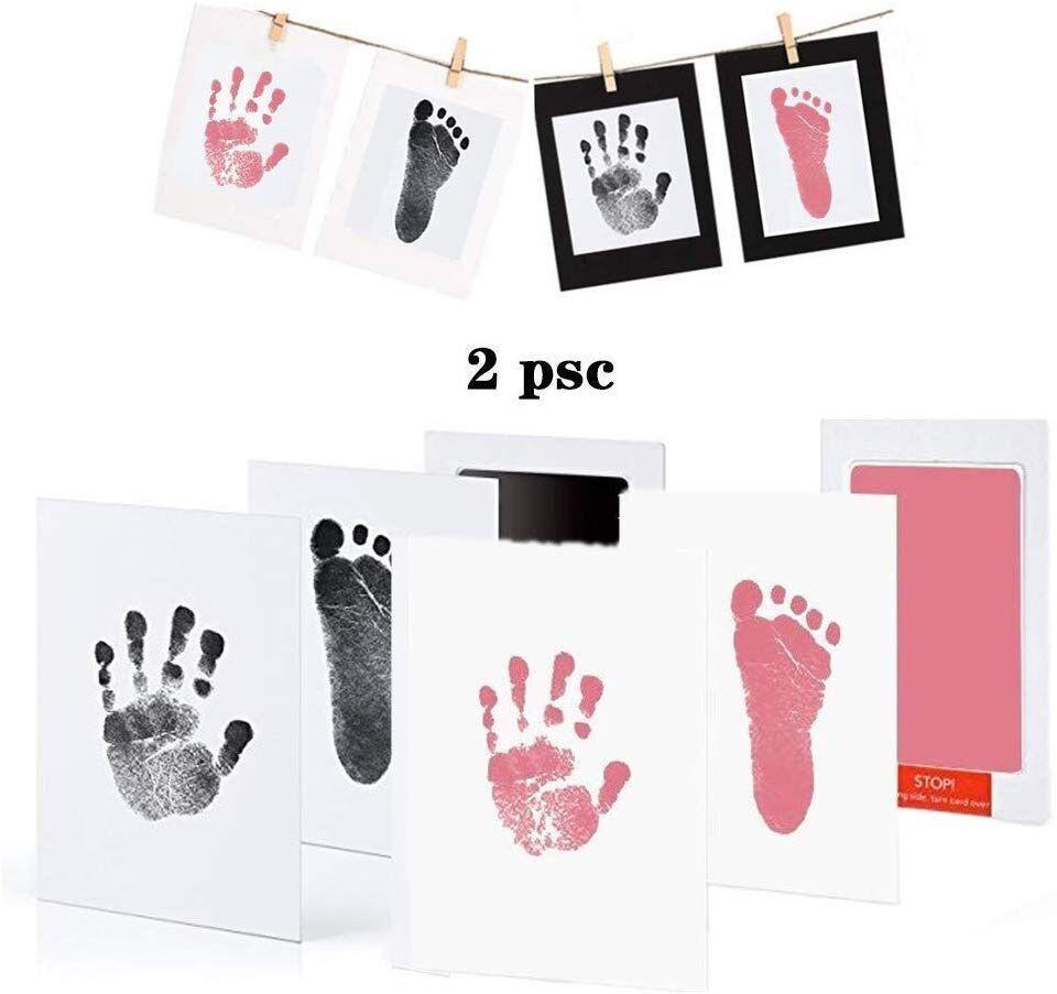 Newborn Baby Handprint Footprint Oil Pad Painting Ink Pad Photo Hand Foot Print Pad Wonderful Souvenir