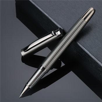 Luksusowy kulkowy długopis metalowy wysokiej jakości biznes pisanie podpisywanie kaligrafii długopisy biurowe szkolne artykuły biurowe 03733 tanie i dobre opinie noverty CN (pochodzenie) 0 5mm Biuro i szkoła pen