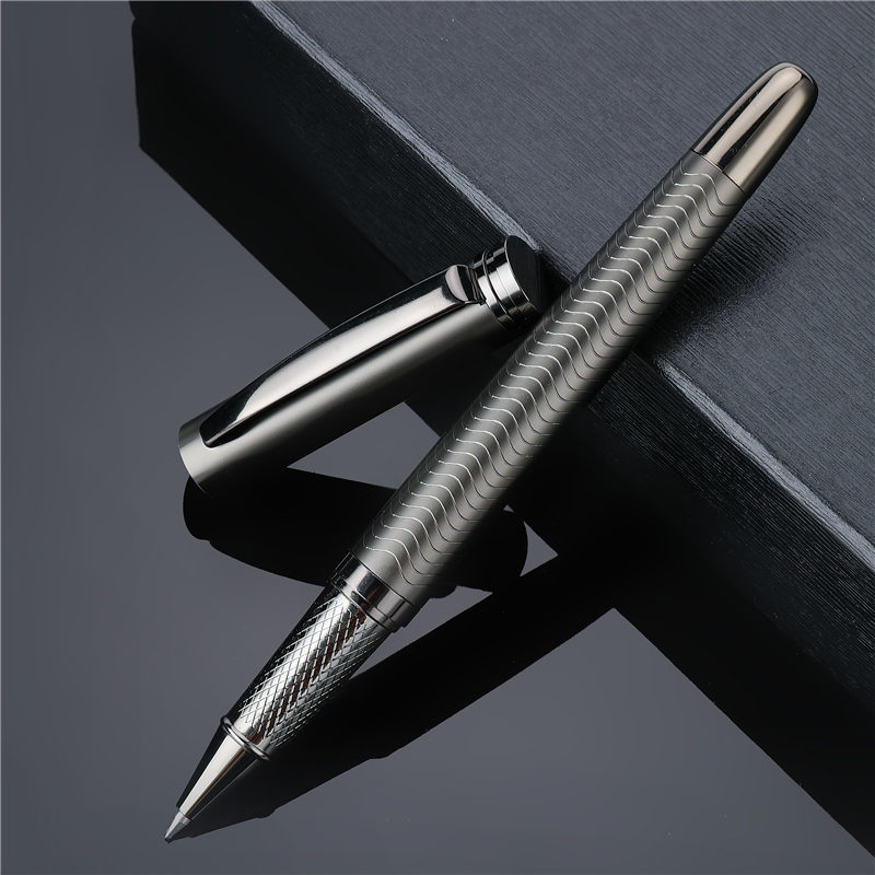 Luxury Metal Ballpoint Pen High Quality Business Writing Signing Calligraphy Pens Office School Stationery Supplies 03733(China)