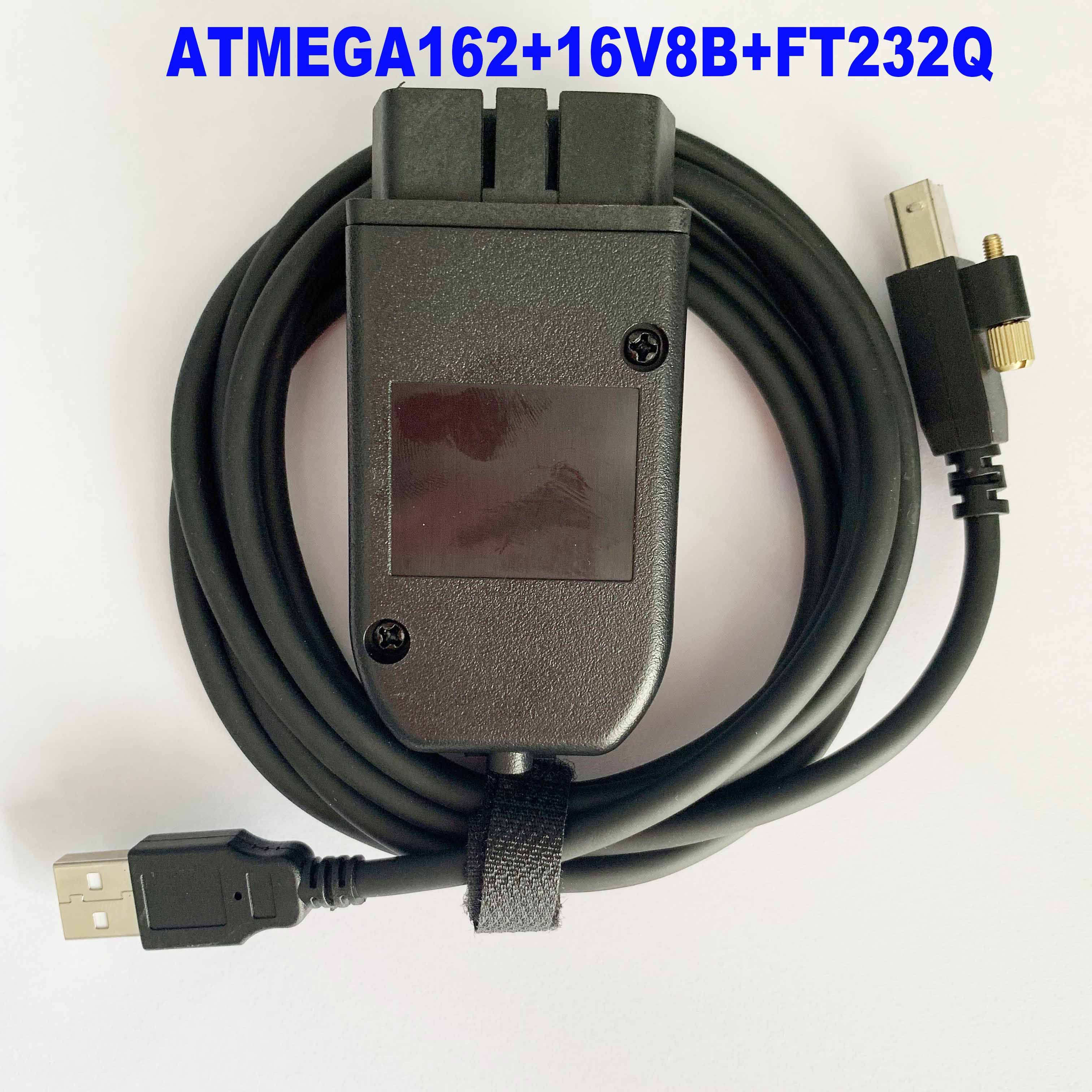OBD COM Can USB Interface Cable V19.6.2 V2 18.9 19.6.1 OBDII 16pin HEX For Audi Vw Seat Skoda German/Danish/Dutch Multi-Language