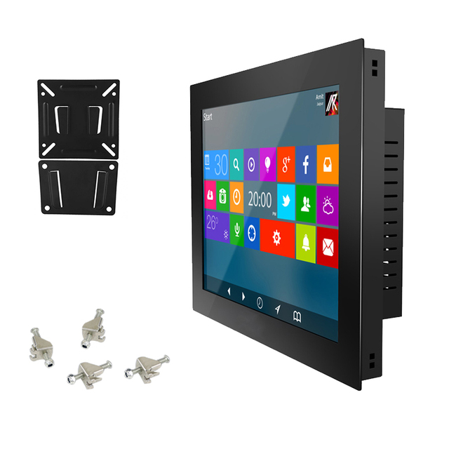 """12"""" 10"""" 15 inch Industrial tablet Panel PC Desktop Computer Resistive Touch Core i3 Windows XP/7/10 system USB SSD WiFi mini pc 1"""