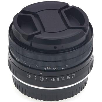 32mm F1.6 Manual APS-C Camera Lens for Fujifilm Fuji X Mount X-T10 X-T2 X-T1 X-A3 X-A2 X-A1 X-PRO2 X-PRO1 X-E2 X-E1 X-T3