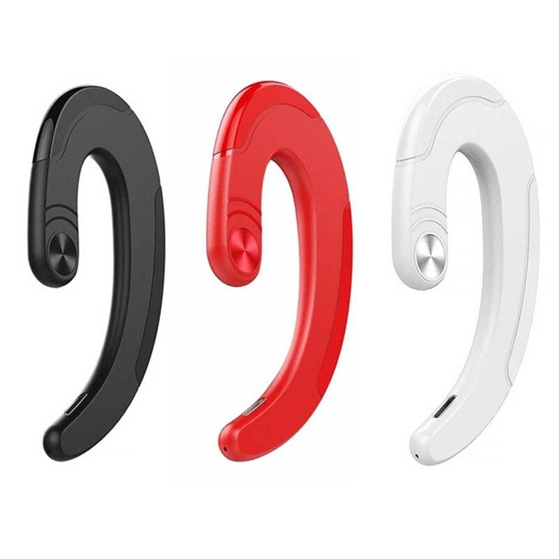 Q25 TWS Bone Conduction Earphones Outdoor Sports Mini Hanging Ear No Earplugs Wireless Bluetooth Bone Conduction Headset in Bluetooth Earphones Headphones from Consumer Electronics