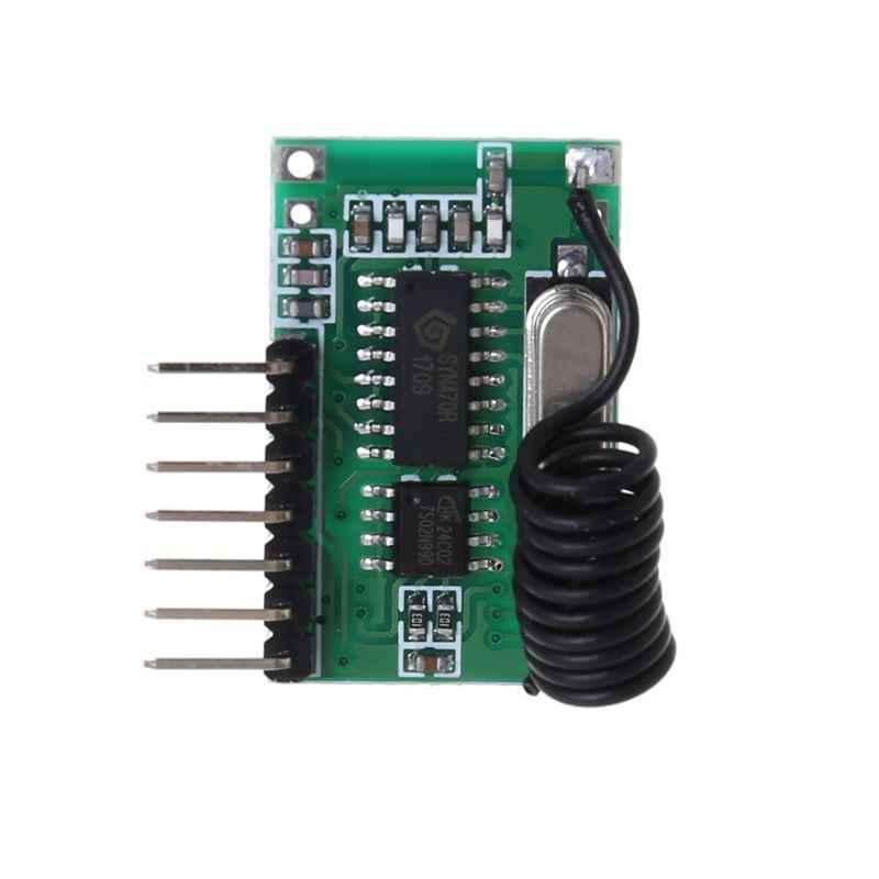 AK-06C bezprzewodowy szeroki zakres napięcia kodowania nadajnik dekodowania odbiornik 4 kanałowy moduł wyjściowy dla 315/433Mhz zdalnego sterowania