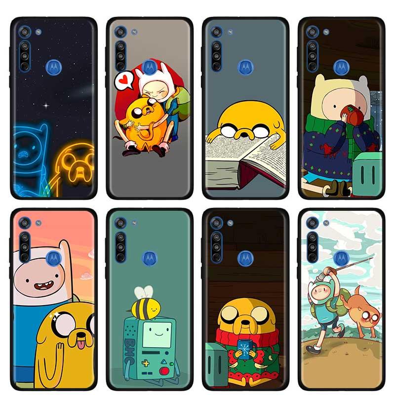 Adventure Time Cute Beemo BMO Jake Finn Case For Motorola G Style G8 Power Plus Play Lite One Hyper G Power E6s Edge Plus Shell